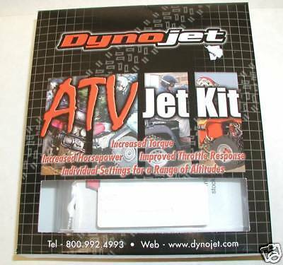 Arctic Cat AC400i 2002 2x4 ATV Jet Kit Stage 1 - Q618