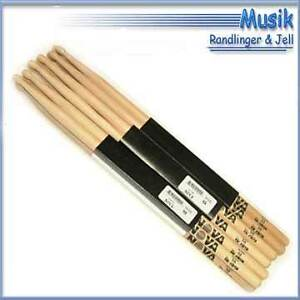 Nova by Vic Firth Drumsticks 5A  Hickory 6 Paar