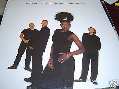 M People Search For The Hero Padlock 12  Remixes Sealed