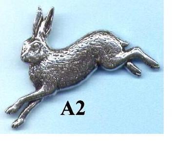 Hase A2 / Anstecknadeln / Geweihe / Hutanstecker