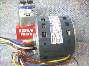 Carrier furnace blower motor 1 2 hp 4 speed 115 volts ebay for Furnace blower motor speeds