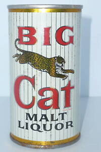 BIG CAT MALT LIQUOR