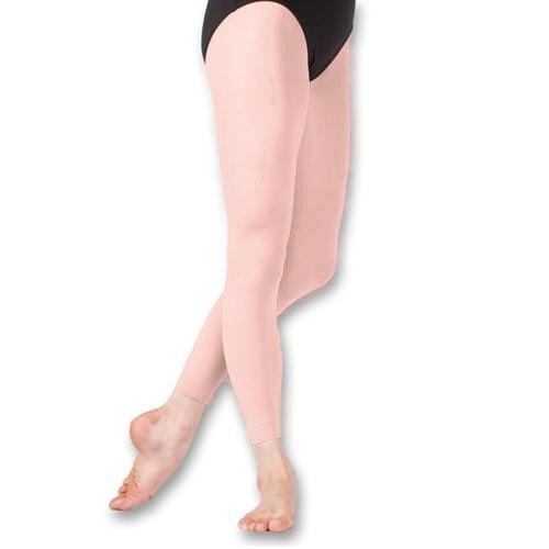 Footless Pink Dance tights Size Medium