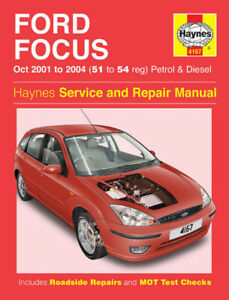 haynes workshop repair manual ford focus lr 2001 2005 ebay. Black Bedroom Furniture Sets. Home Design Ideas
