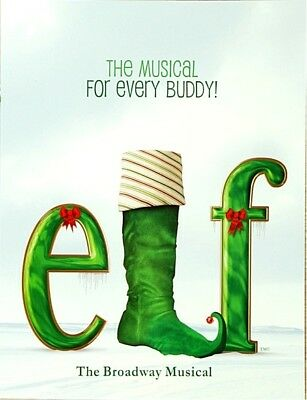 ELF BROADWAY SOUVENIR PROGRAM - SEBASTIAN ARCELUS