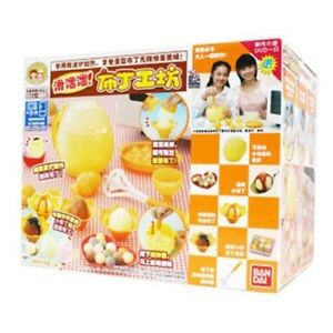 JAPAN-BANDAI-COOK-JOY-PUDDING-MAKING-CHILD-TOYS-PLAY-SET-DVD