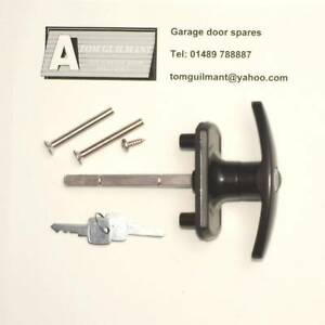garage door lock handle. Image Is Loading B-amp-Q-garage-door-lock-handle-black- Garage Door Lock Handle