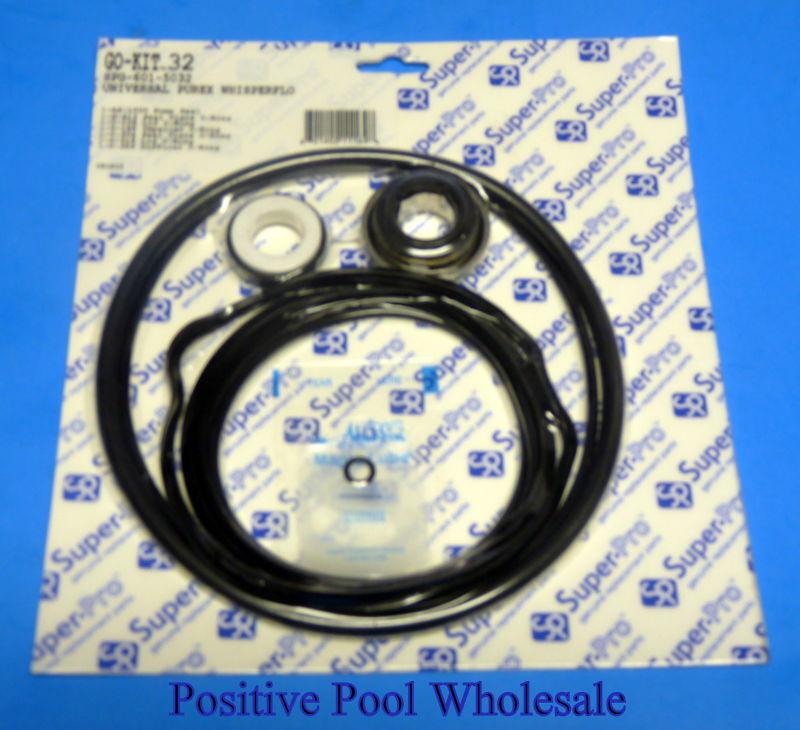 Pentair Intelliflo Pump Gasket Seal O-Ring Oring Kit 32 Shaft Lid Plate Lub Garden
