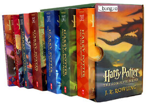 Harry Potter 1-7 Books Collection Box Set J. K. Rowling