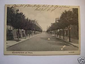AK-Schierstein-a-Rhein-1929-Karlstrasse-Wiesbaden