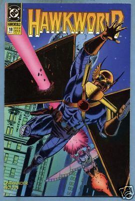 Hawkworld #18 1991 Hawkgirl Hawkman DC Comics c