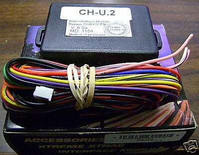 Crimestopper Ch-u.2 Chrysler Data Interface Module