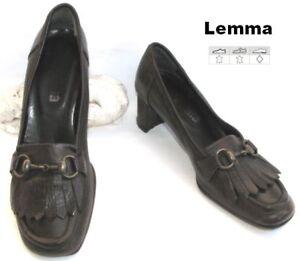 LEMMA - SCHUH LEDER BRAUN CHOCO. 37 - SG ZUSTAND