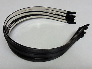 12-Wholesale-lot-satin-metal-5mm-head-hair-band