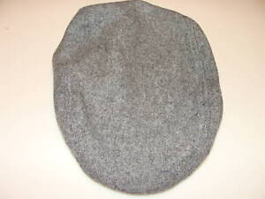 New-Era-Cap-Hat-EK-Denver-Wool-Grey-Collection-Beret-M