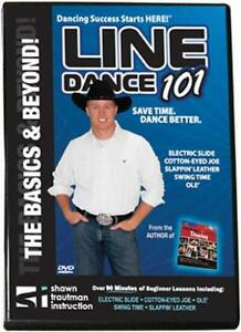COUNTRY-WESTERN-LINE-DANCING-DANCE-101-DVD-by-Shawn-Trautrman-brand-new
