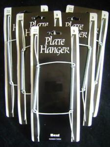 5-SPRING-PLATE-WALL-HANGERS-HOLDER-SUIT-TEA-PLATE-SIZE-5-7-inch-No1