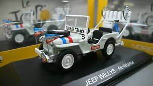 JEEP WILLYS ASSISTANCE  NOREV 845005 1:43