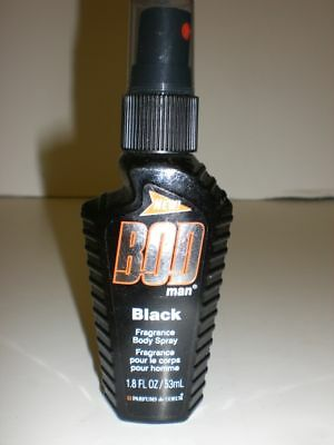 Bod Man Black Fragrance Body Spray 1.8 Oz