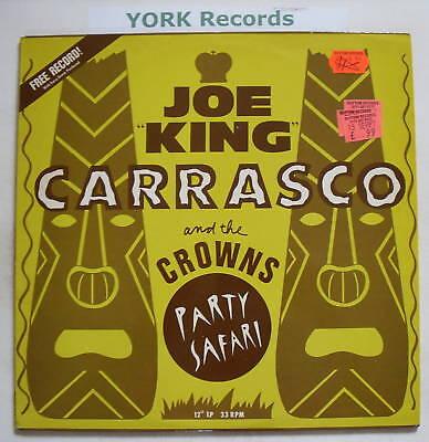 """JOE """"KING"""" CARRASCO - Party Safari - Ex Con 12"""" Single"""