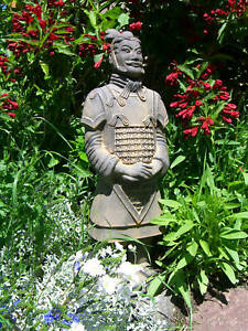 M Terrakotta General 49cm Armee, Soldat, Krieger, Figur Gr