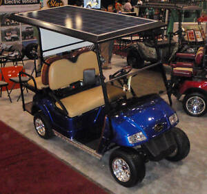 Image Is Loading Solar Panel Roof For Golf Cart Car Top