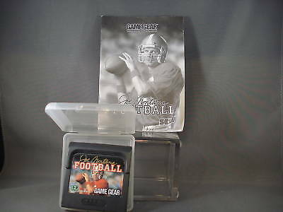 Sega Game Gear Joe Montana Football