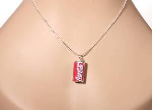 Coca-Cola-Charm-Necklace-Coke-Soda-Pop-50s-Vintage-Car