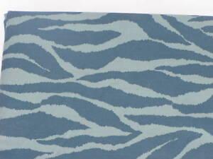 Teal bluee Zebra Skin TWIN TW Blanket Duvet Comforter Cover Leopard Animal Print