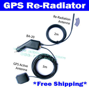 GPS Antenna Amplifier Receiver Repeater Radiator BA-20