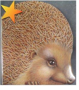 NEW-Nature-Shape-Hedgehog-1993-Hardcover-WD29069