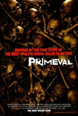 Primeval - Original Ds Movie Poster - Horror
