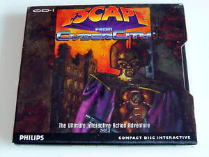 PHILIPS CDI GAME ESCAPE FROM CYBERCITY NEW AND SEALED