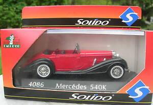 SOLIDO-1-43-METAL-MERCEDES-BENZ-540-K-4086