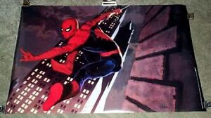 1994-ORIGINAL-34-x-22-SPIDER-MAN-1990s-MARVEL-COMIC-BOOK-ART-POSTER-MARVELMANIA