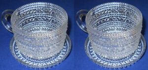 Iittala-Toikka-Kastehelmi-Vintage-Clear-Cups-Plates-Fin