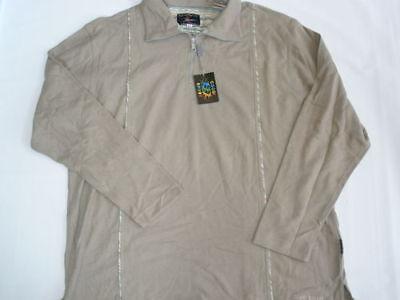 1990s Vintage Coogi Sport Half Zip Men Shirt 2xl Xxl Made In Australia