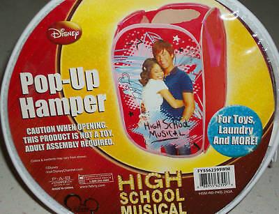 High School Musical Zac Efron Xmas Picture Photo Zack Kids Laundry Hamper Gift ()