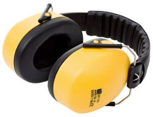 Proforce Professional Folding Ear defenders With Padded Head Band SNR 30db