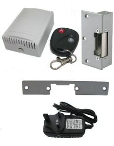 Wireless Remote Electric Door Access Entry System 2 Fob