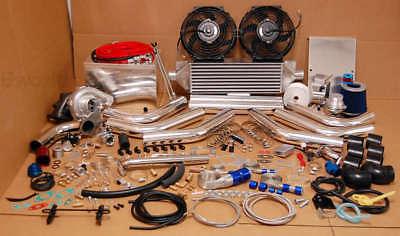 T3t4 Turbocharger Kit Turbo High Performance Race 500hp Camaro Civic Jdm Package