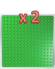 LEGO Bulk Green Plates 16x16 for City&Train Layouts NEW