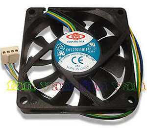 Top-Motor-DF127015BU-70mm-x-15mm-4-pin-PWM-CPU-fan-NEW
