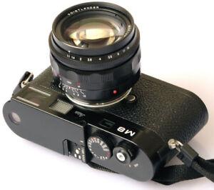 New-USA-Voigtlander-50mm-f-1-1-50-1-1-Nokton-Leica-M-M9-Ricoh-GXR-M-NEX-M43