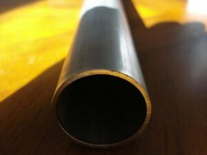 STEEL PRECISION TUBE  35mm OD x 300mm LONG  2mm WALL