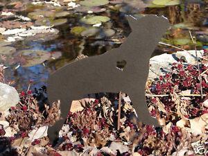 BOSTON TERRIER PET DOG MEMORIAL GARDEN YARD LAWN DECOR