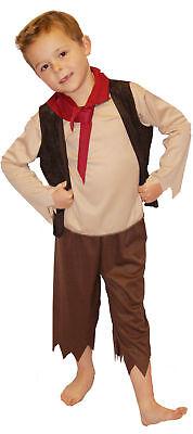 Viktorianisch/Edwardianisch/Arbeitshaus/Oliver Bengel 7 / Bettler - Viktorianischer Bettler Kostüm