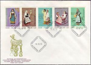 Finland-National-Costumes-Folk-Dress-Women-5-Finland-FDC-1973