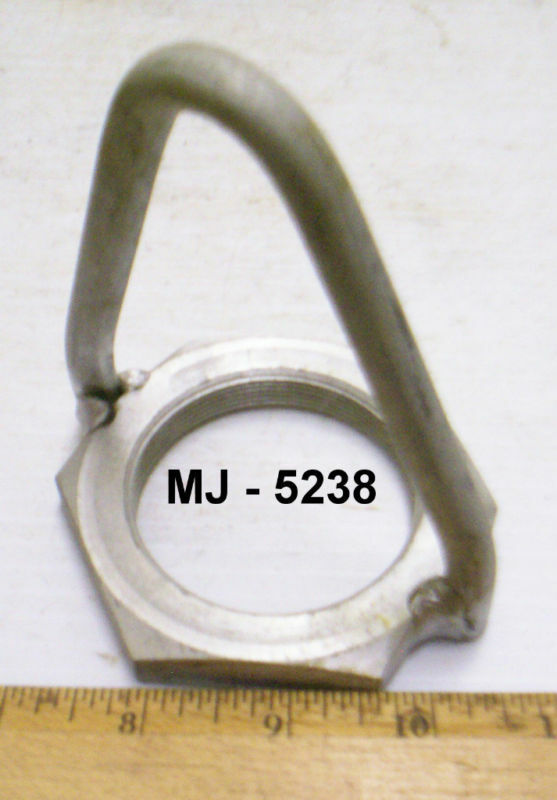 Galvanized Steel Screw-On Lifting Eye  (NOS)