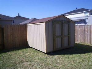 Storage Building New 8x8 Gable Shed Barn Ebay